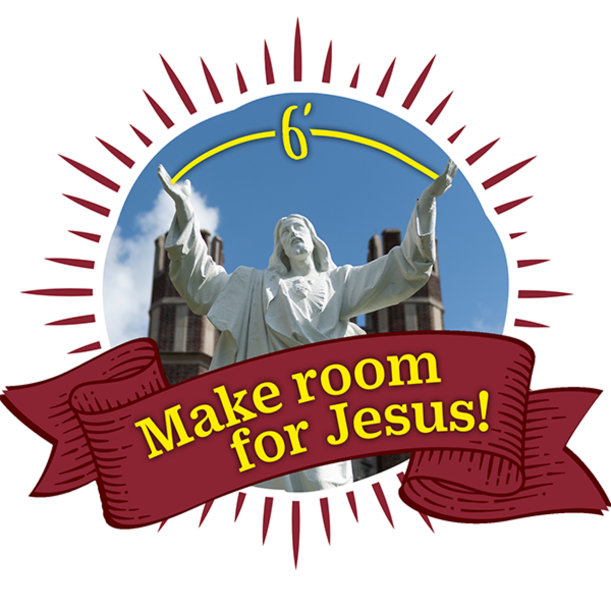 make room for jesus