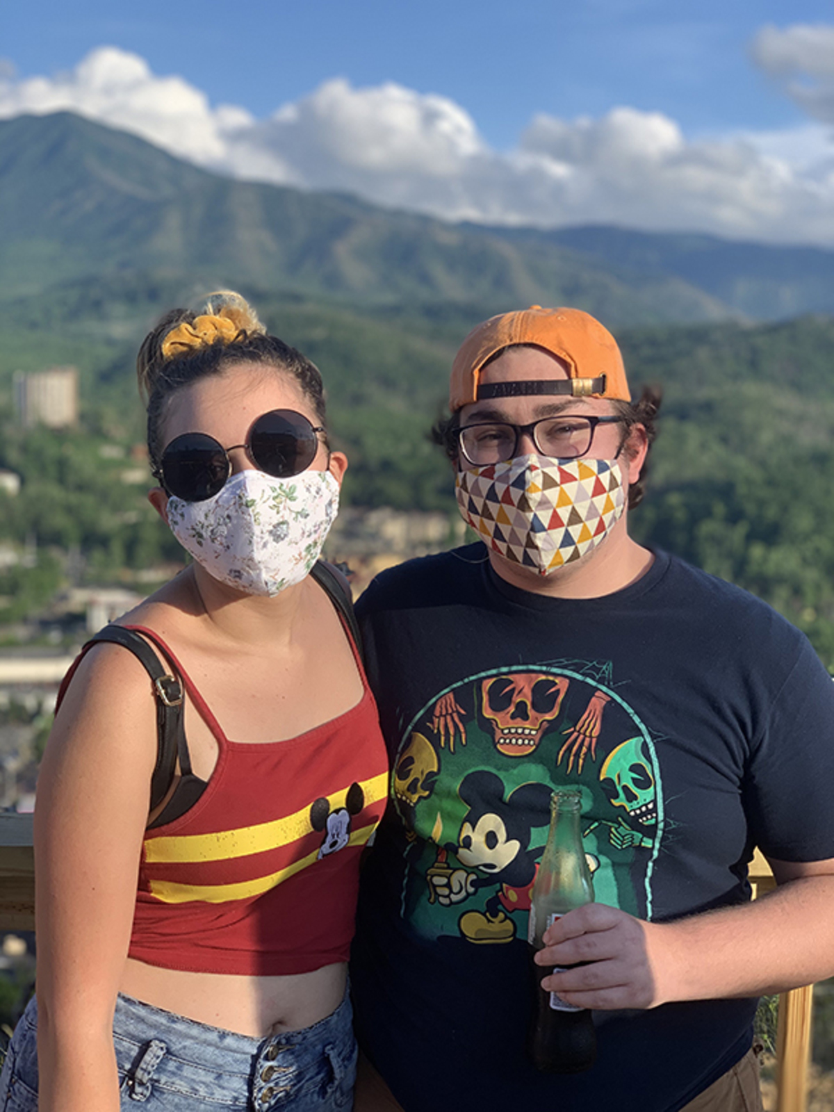 Loyola students mask up