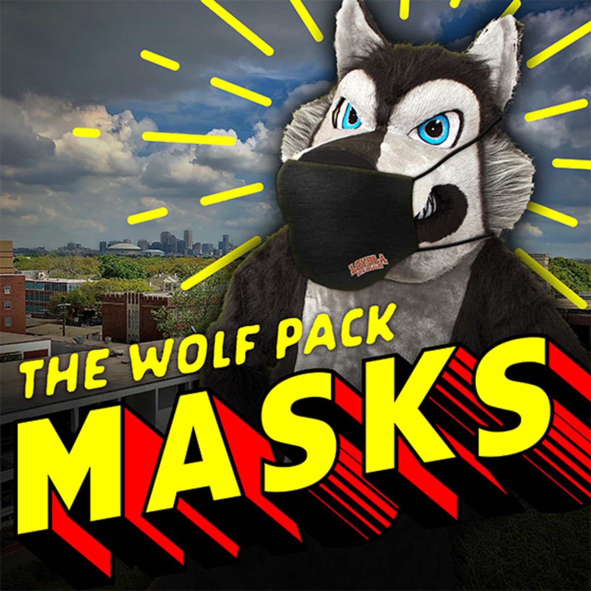 The Wolf Pack Masks