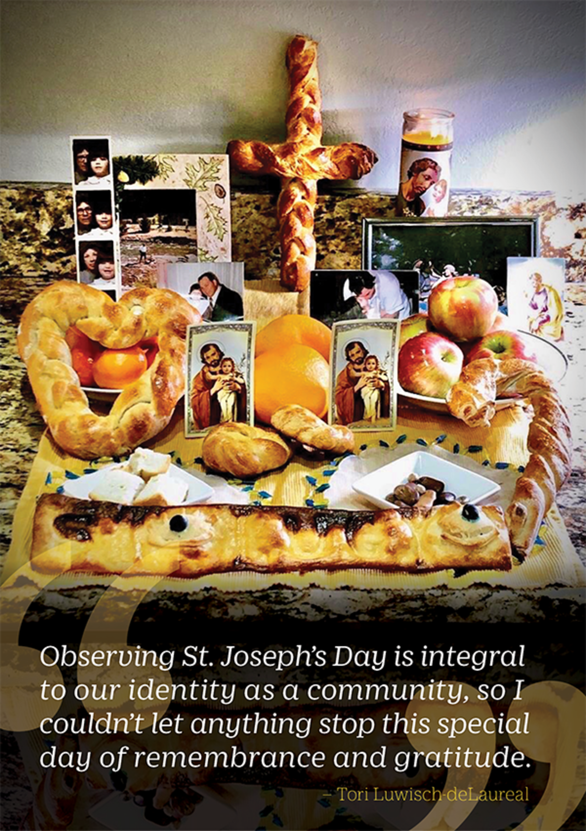 Observing St. Joseph's Day quote